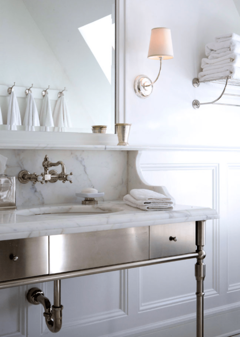 Modern Classic Bathroom Ideas Giving Us Major Inspo for Our Remodel