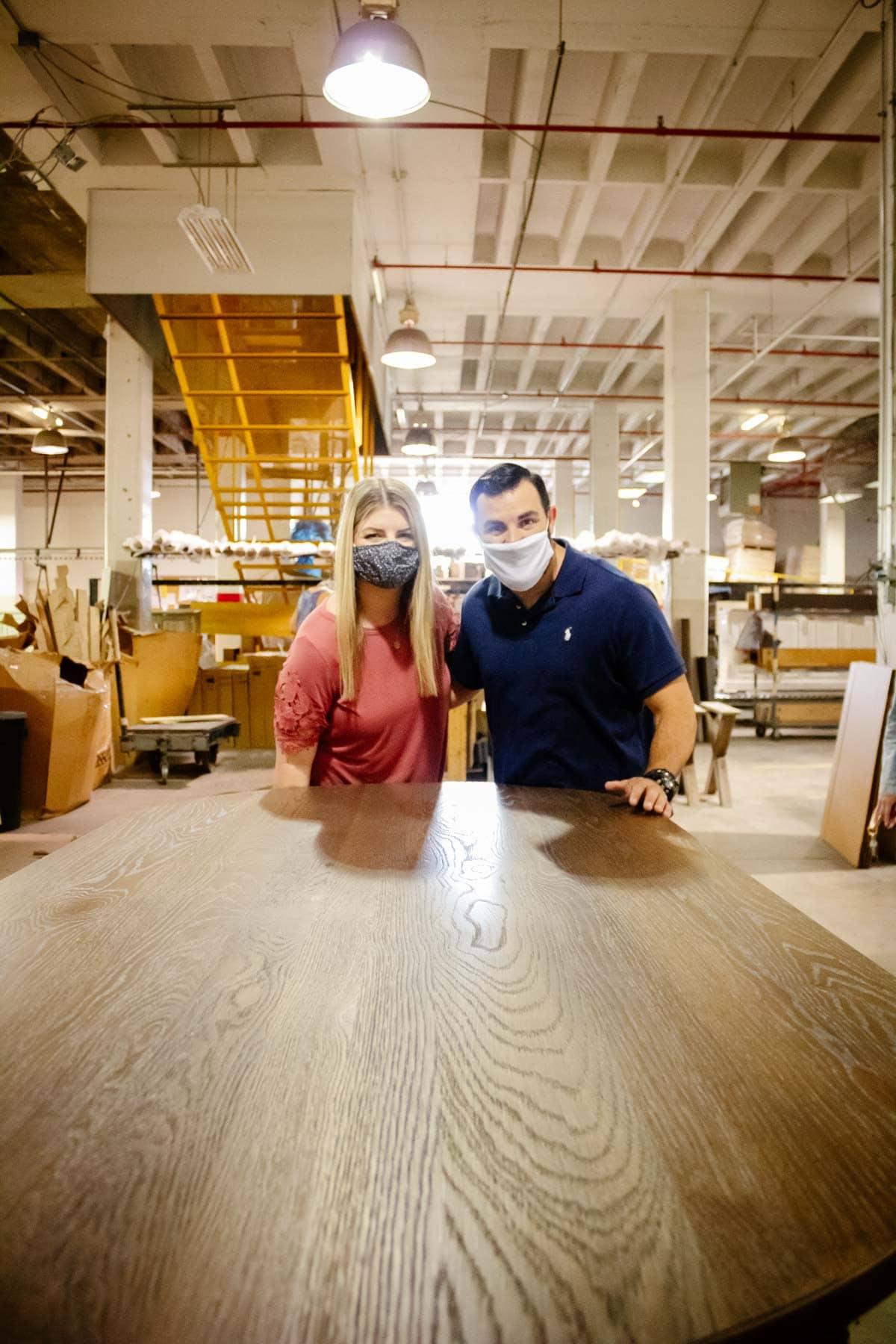 BenchMade Bassett Furniture factory visit