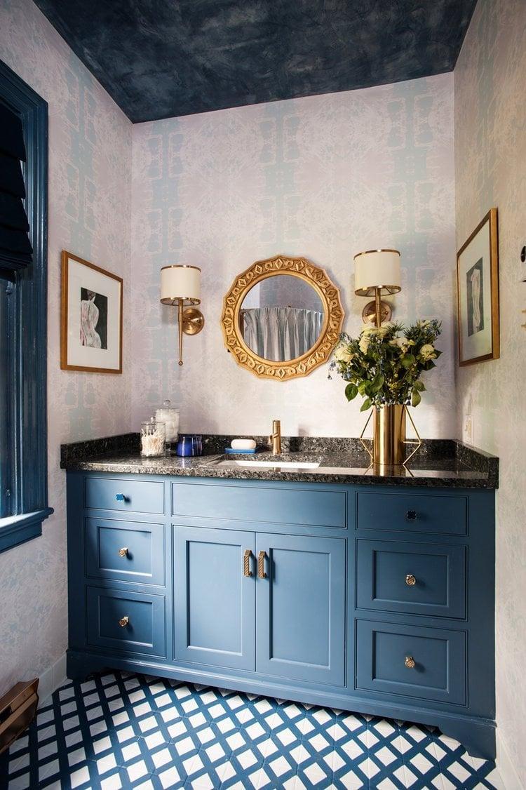 Benjamin Moore Van Deusen Blue - Melissa Mathe Interior Design