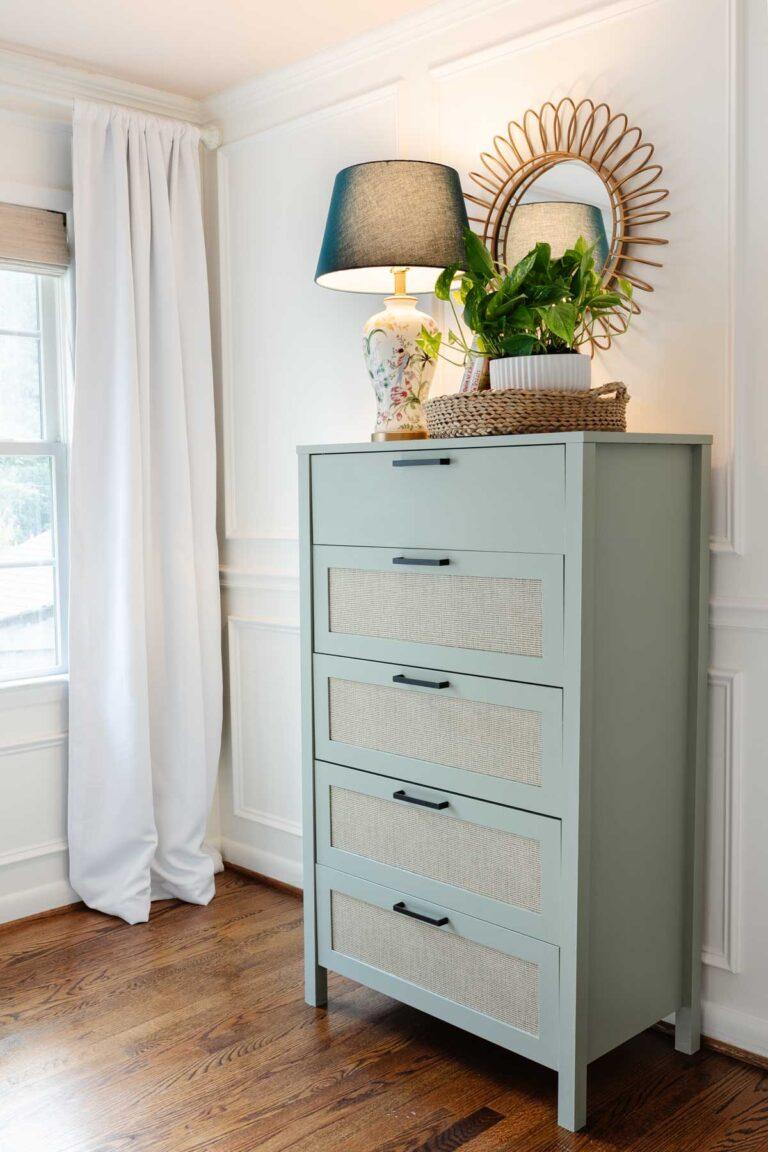 How to Paint Laminate Furniture – Regan's Room Progress