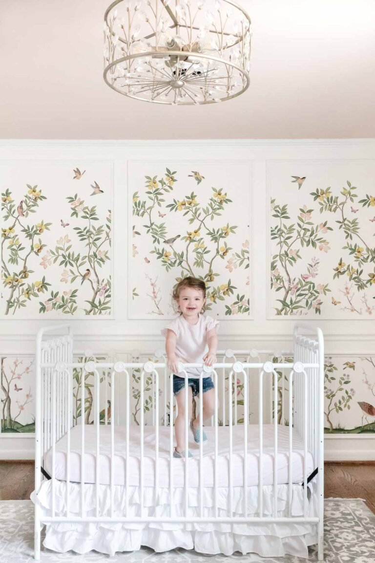 How to Wallpaper Inside Picture Frame Molding