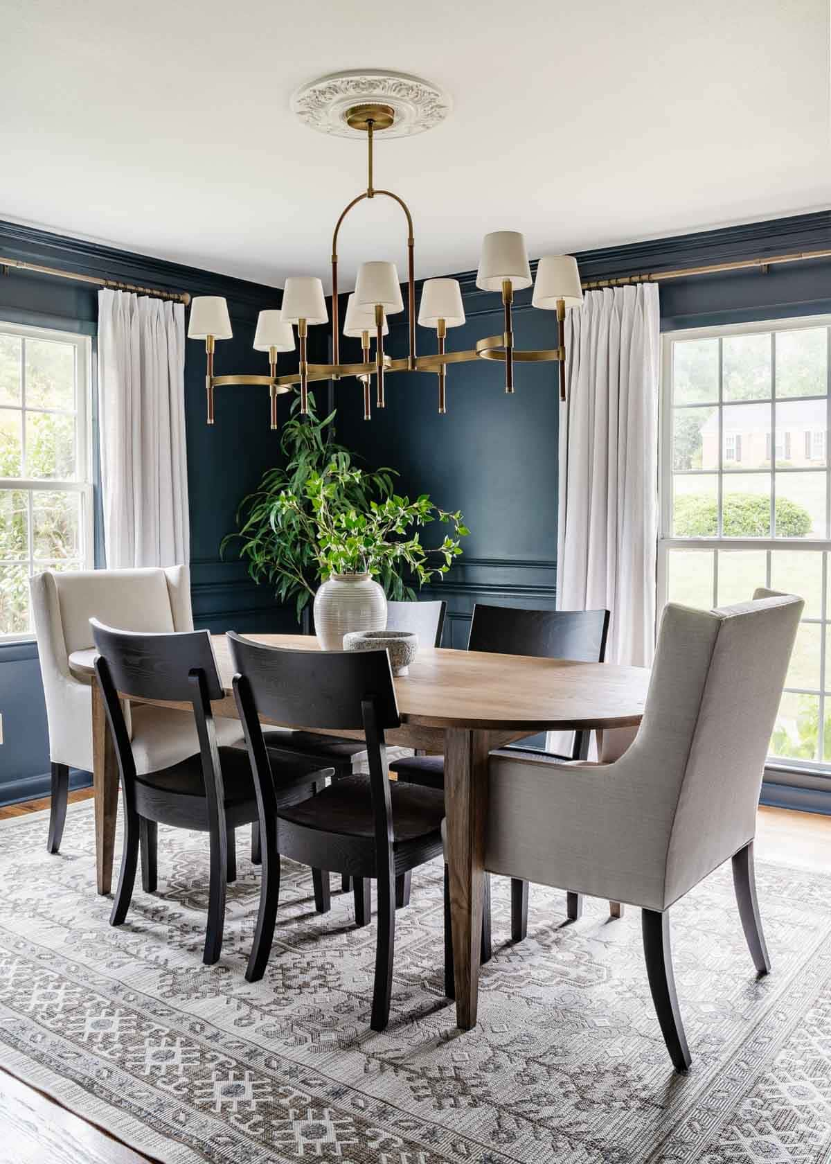 classic modern dining room furniture