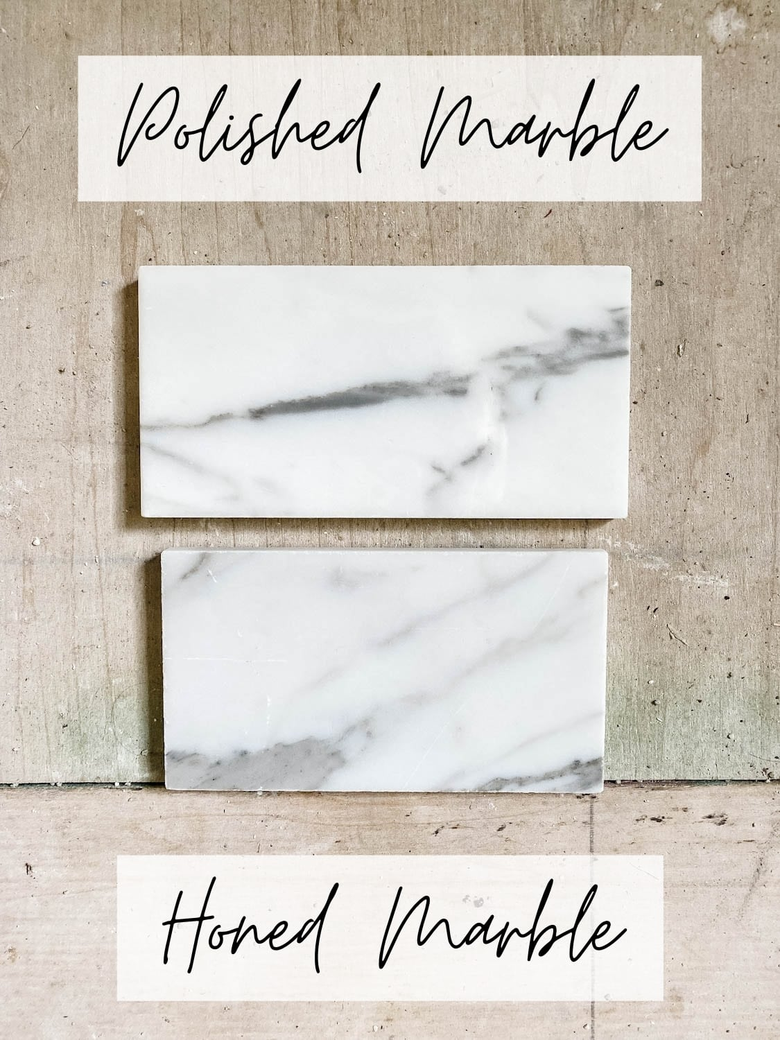 pros and cons of polished marble vs honed marble