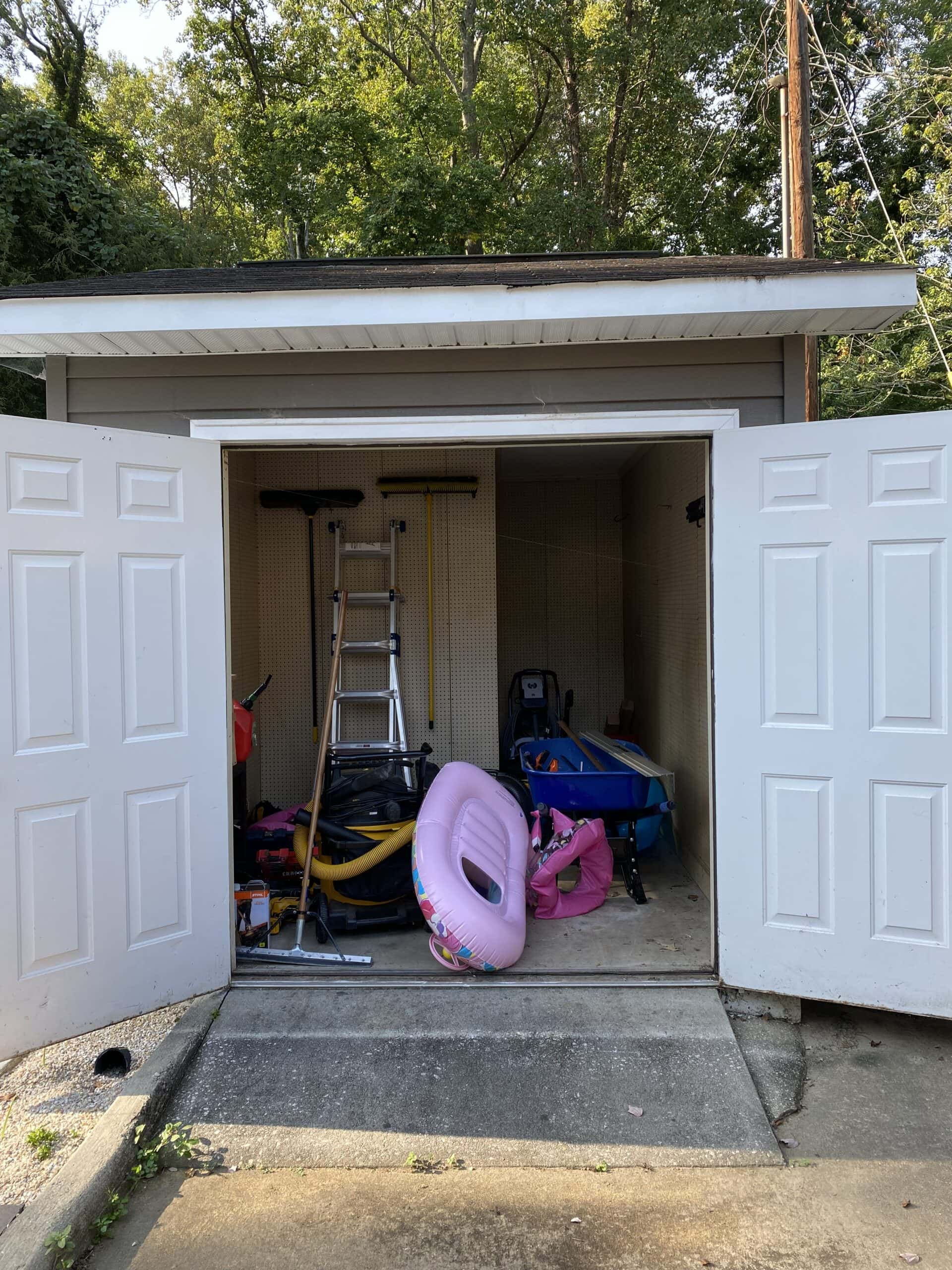 shed to repurpose into home gym
