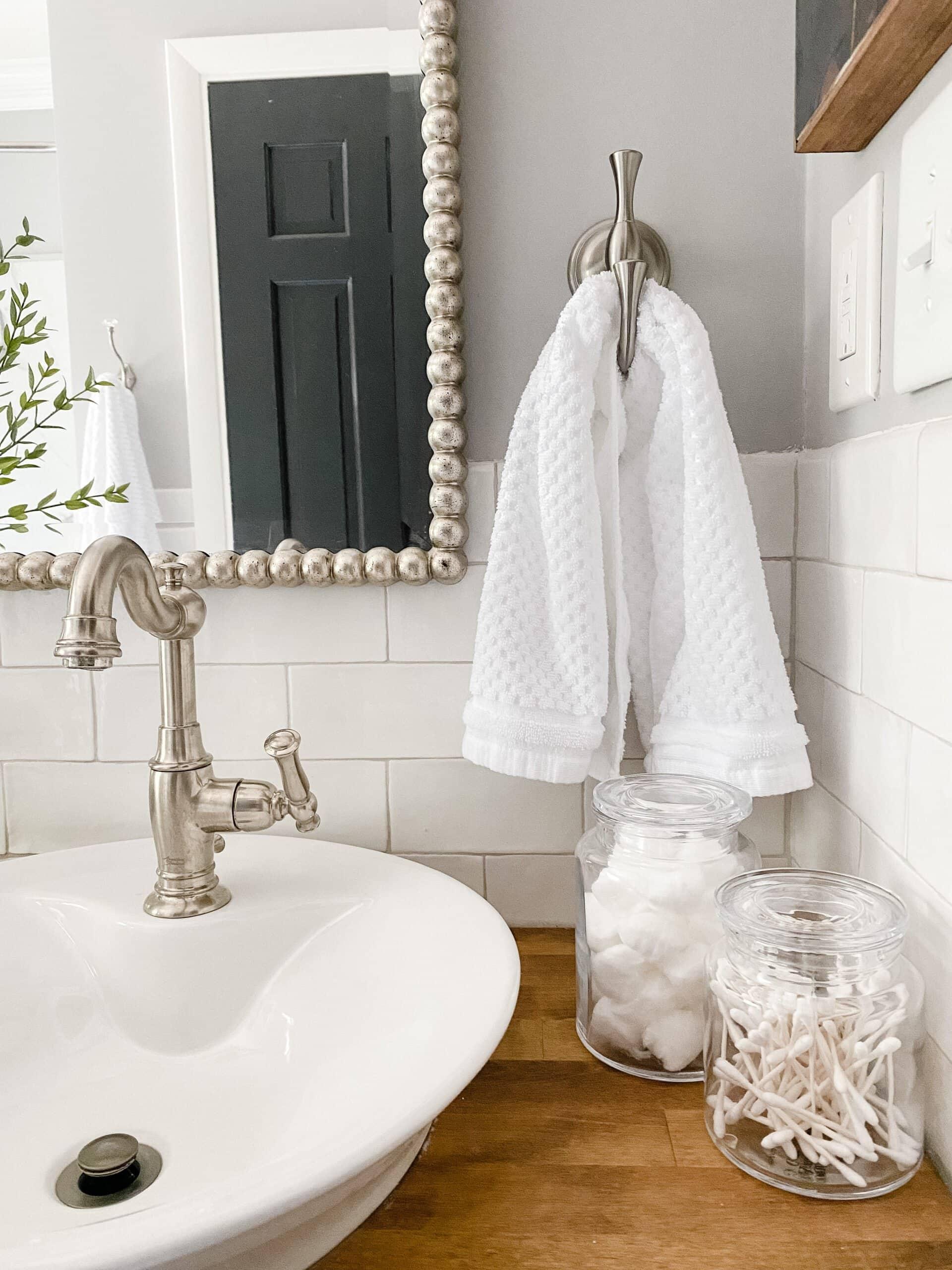 apothecary jar bathroom accessories