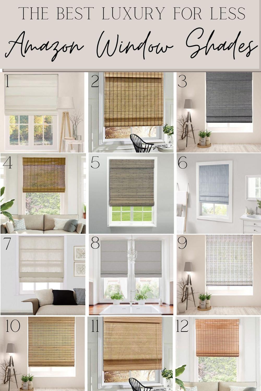 Amazon window shades