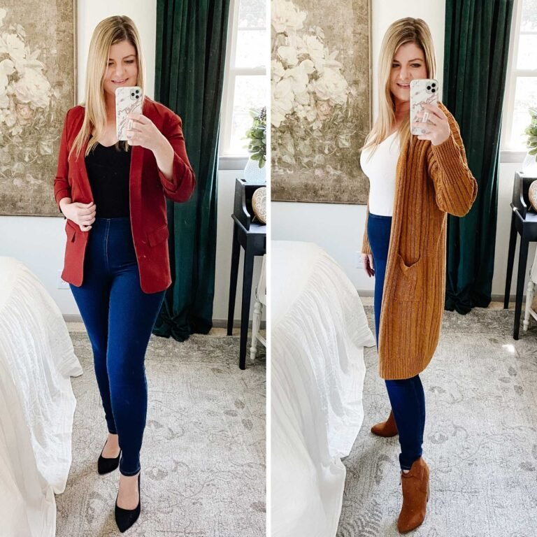 How to Look Slimmer With These 6 Fall Outfits