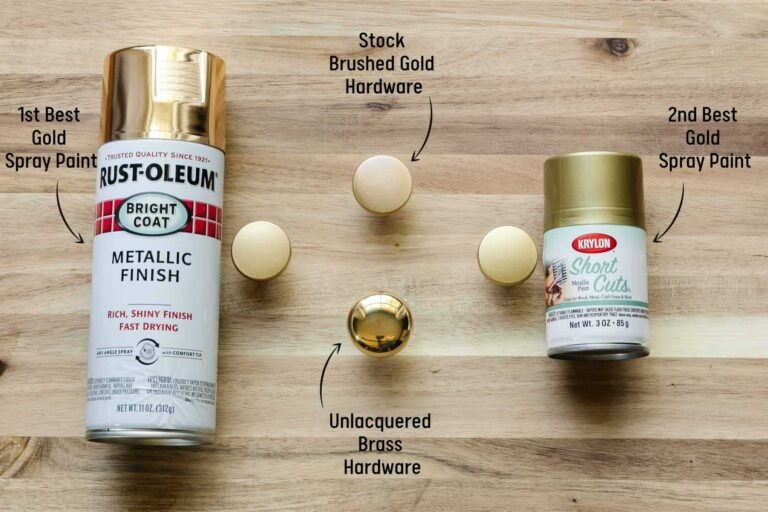 The Best Gold Spray Paints – Ranked