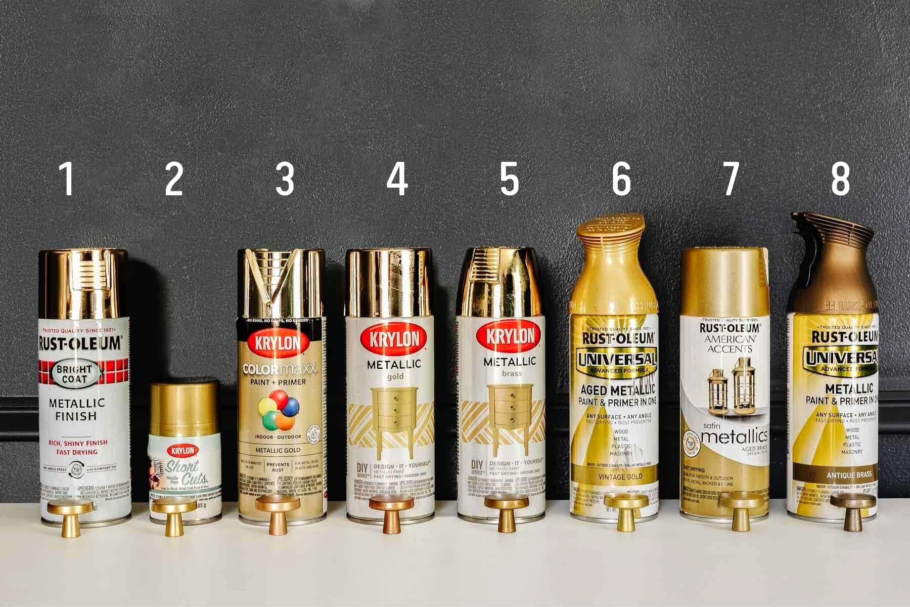 best gold spray paints ranked