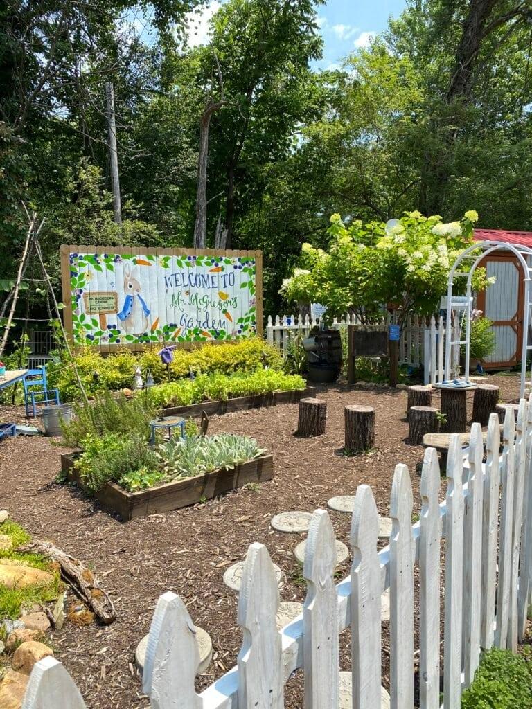 The Lake Lure Flowering Bridge - Peter Rabbit exhibit