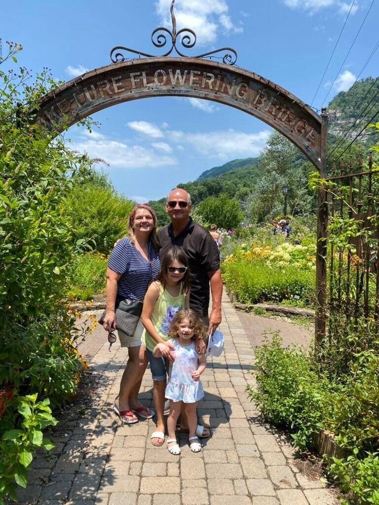 The Lake Lure Flowering Bridge