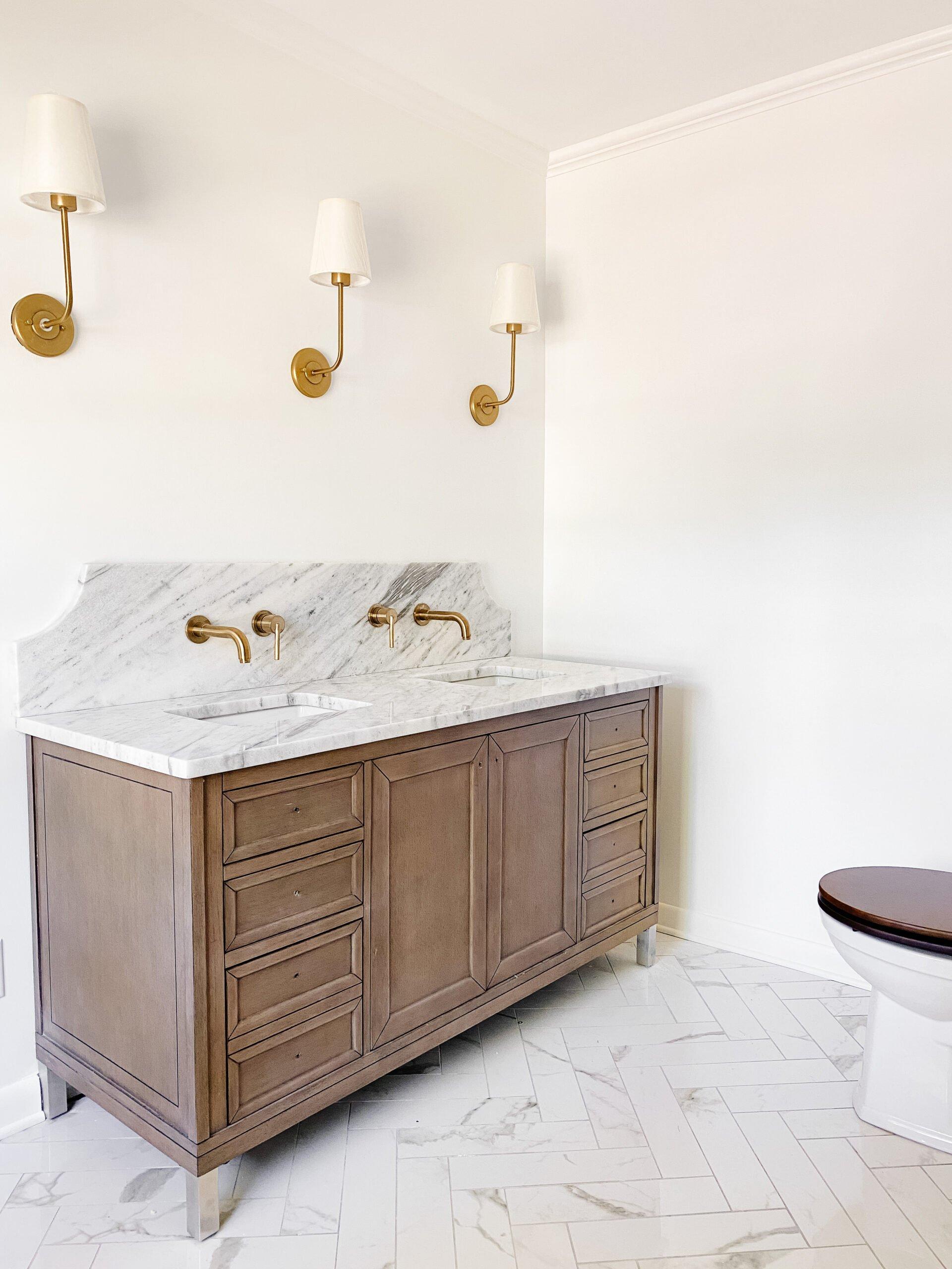 Our En Suite Bathroom Remodel – We Have Faucets!