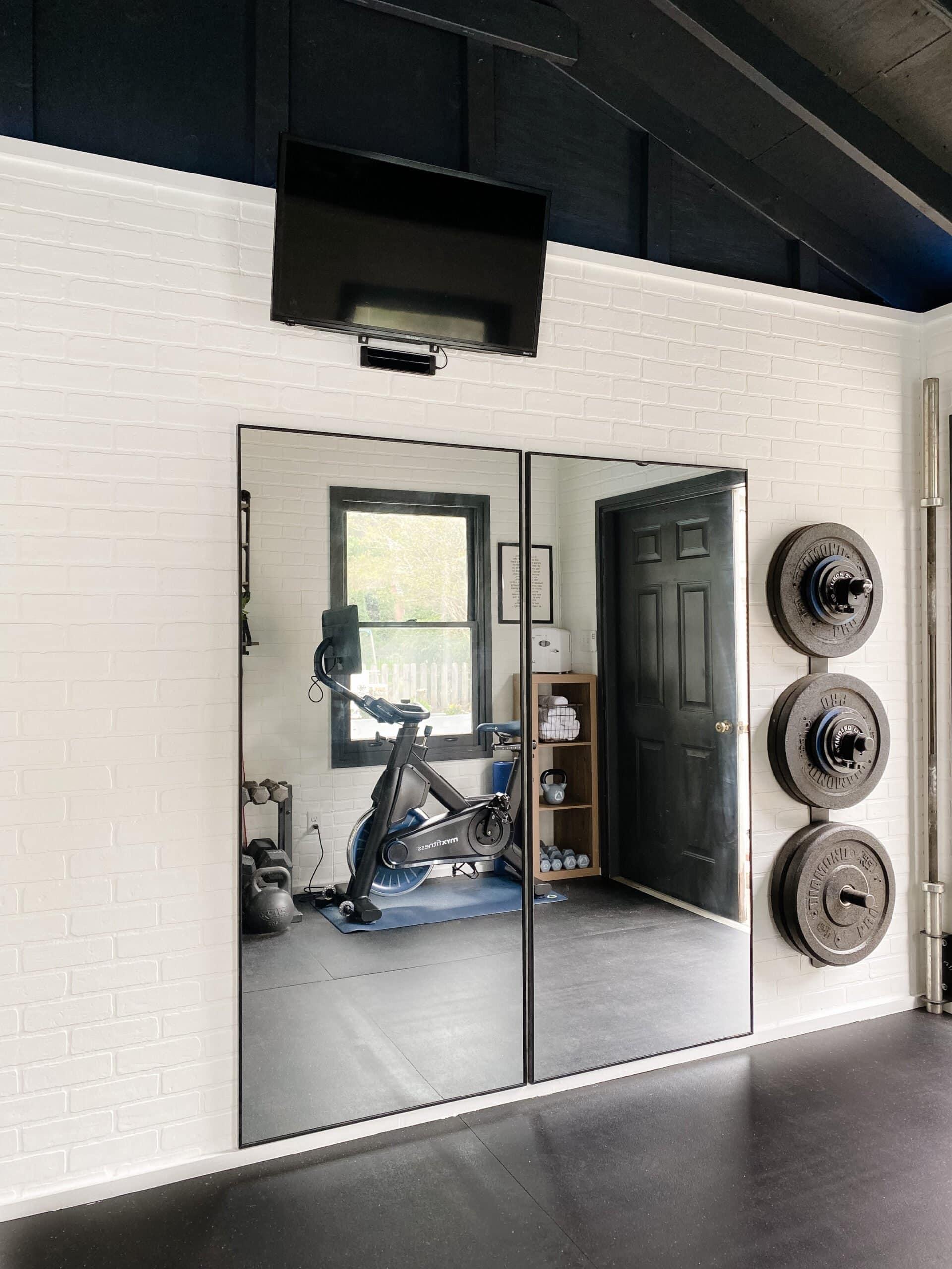 home gym cheap workout mirrors